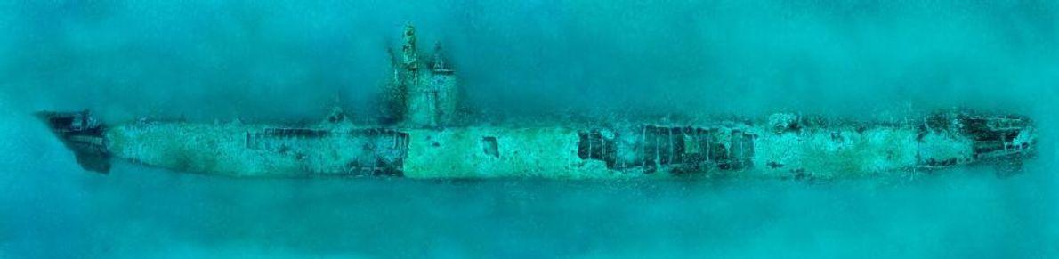 El submarino alemán U-352