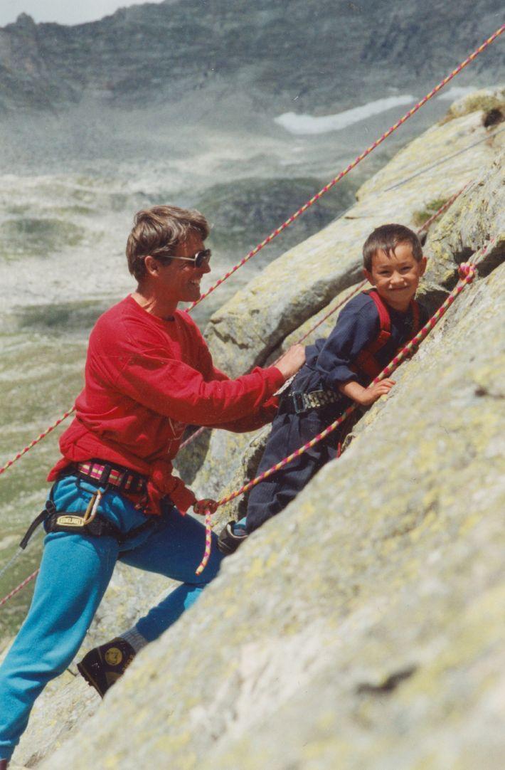 Peter Habeler y Lama