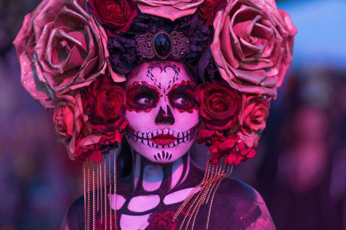 La reina del Día de los Muertos