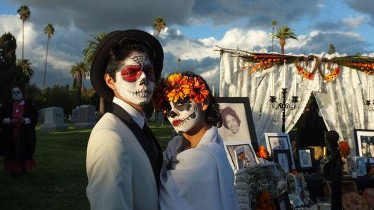 Fotografías de las celebraciones del Día de los Muertos