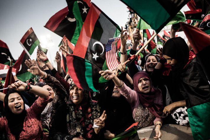 Revueltas en Libia