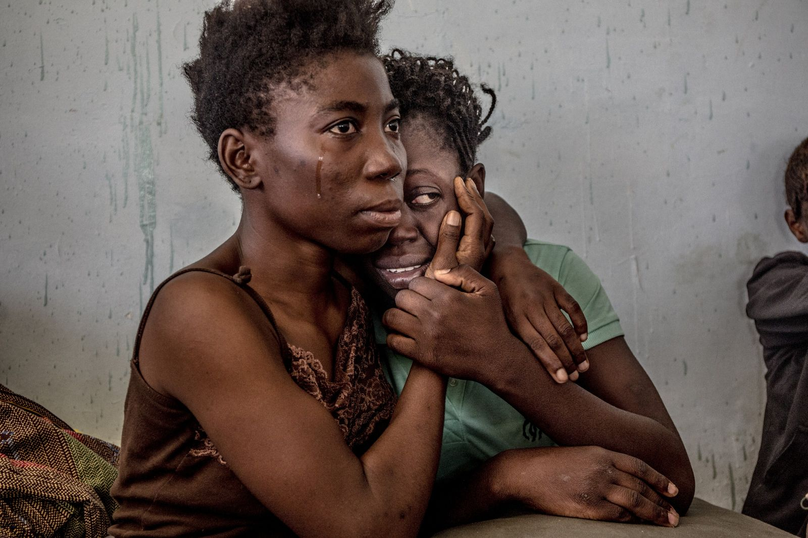Dos refugiadas nigerianas