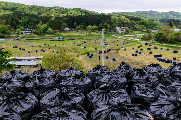 Bolsas de residuos contaminados