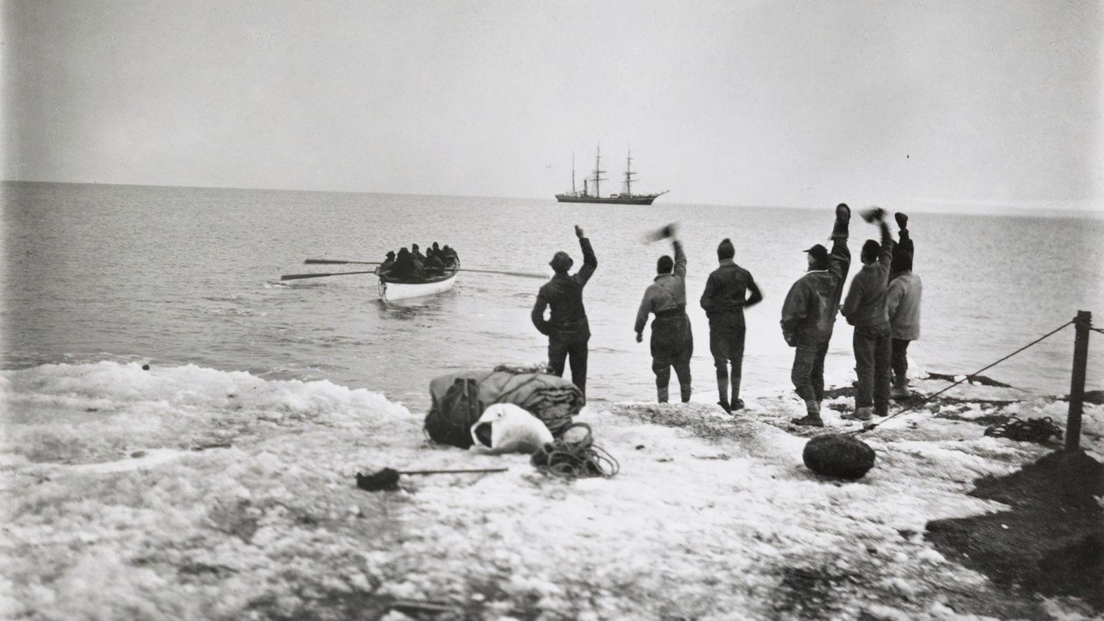 Miembros de la expedición