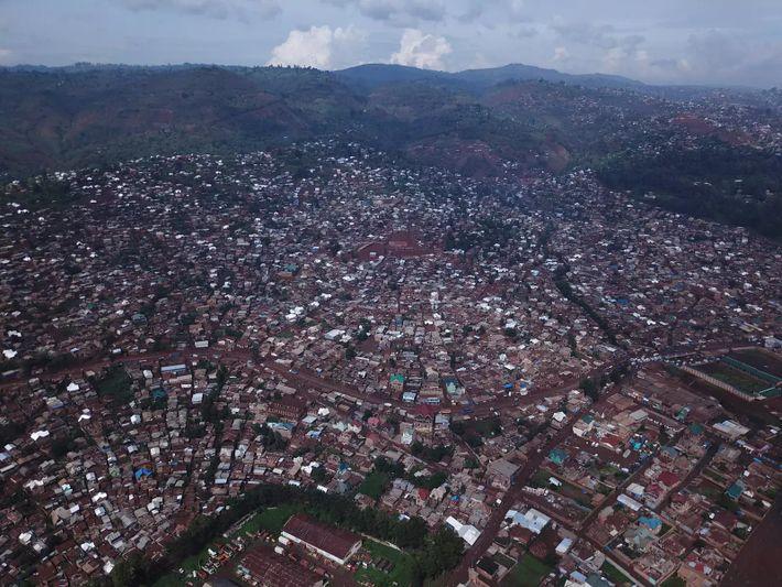 Bukavu, en la República Democrática del Congo