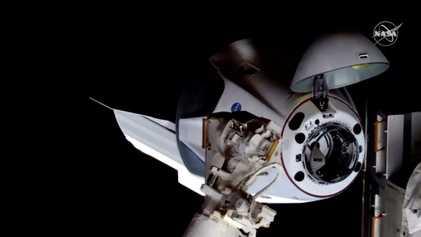 La Crew Dragon ya ha llegado a la Estación Espacial Internacional: no te pierdas las fotos ...