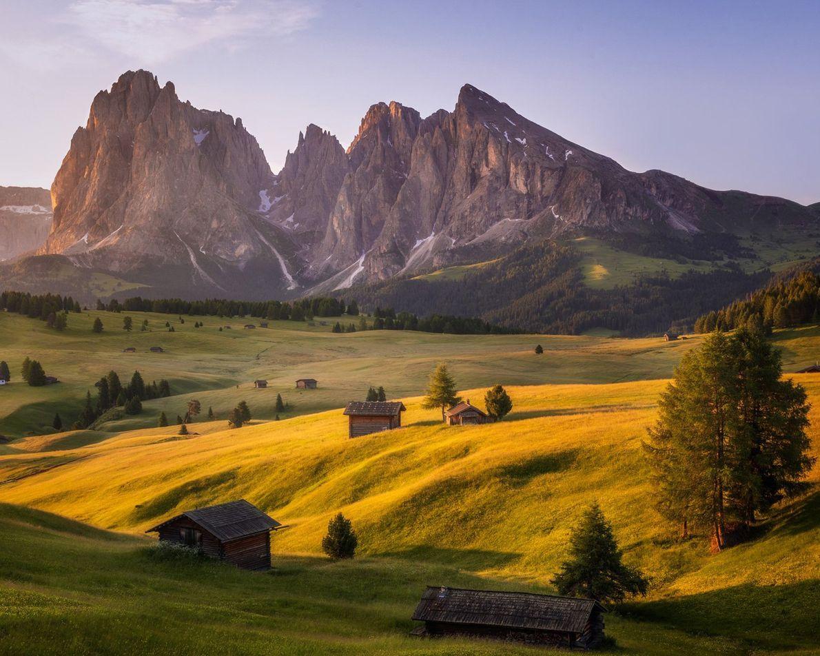 Alpe di Suisi, Italia