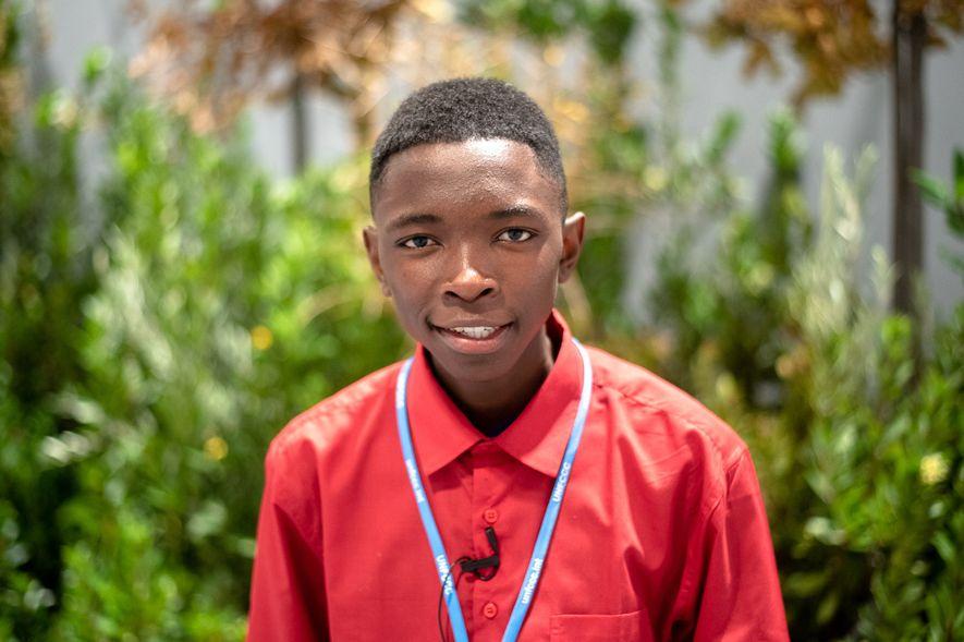 La pasión llevó a Nkosilathi Nyathi, de 16 años, a involucrarse en la lucha por el ...
