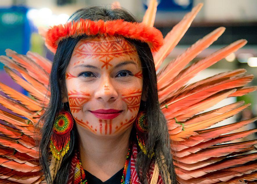 Los pueblos indígenas se han reunido en la COP25 para alzar la voz por la protección ...