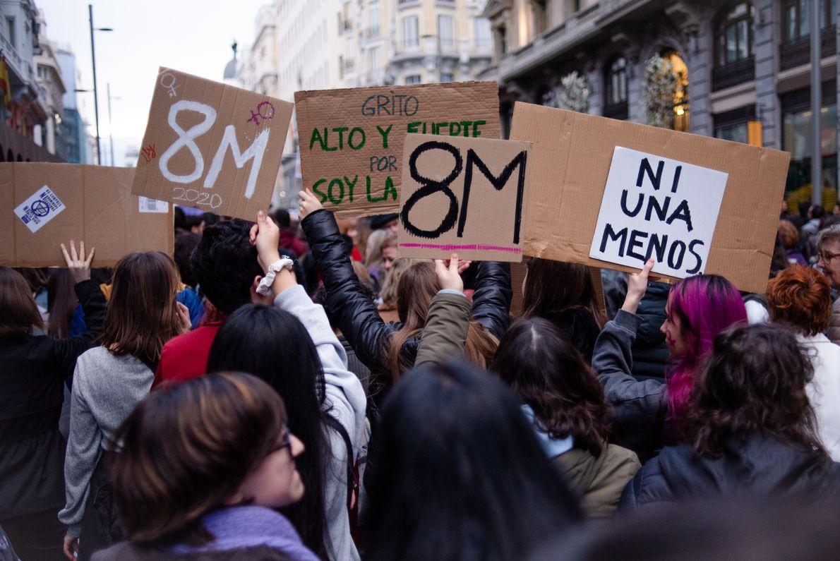 Madrid 8M 08