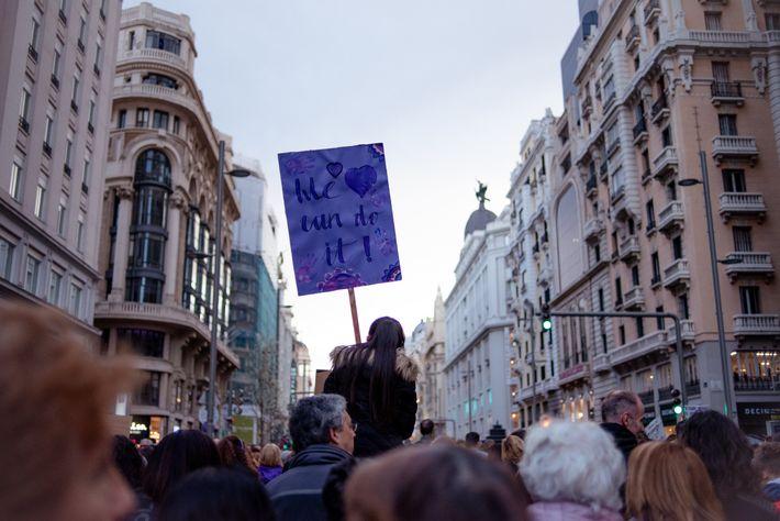 Madrid 8M 03