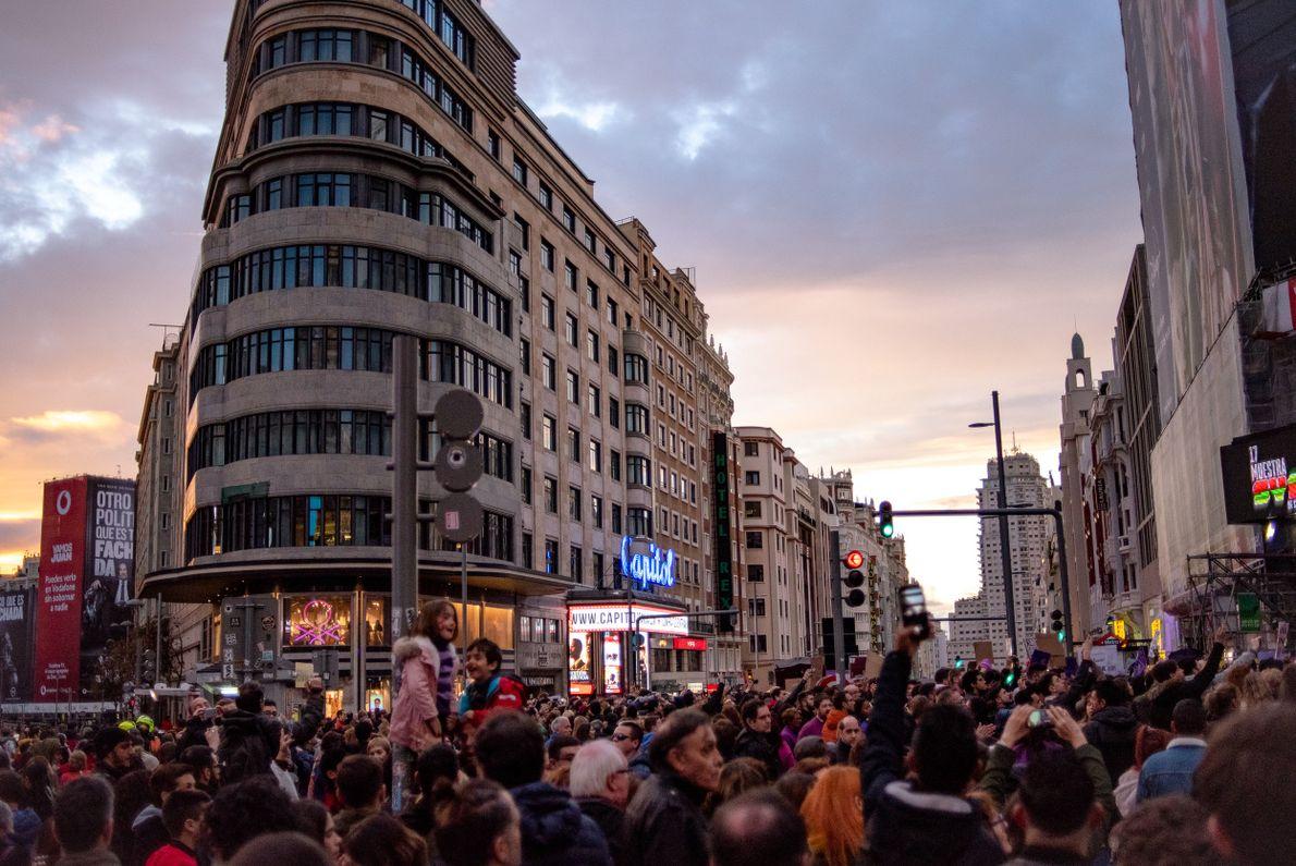 Madrid 8M 07