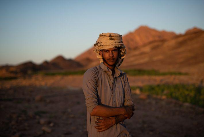 Youssef Ateyya posa para un retrato