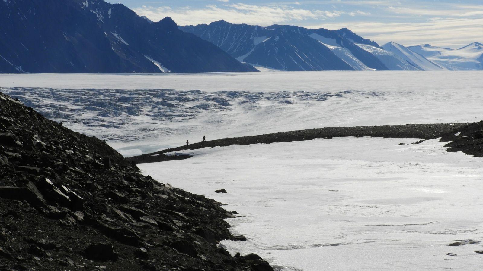 Región del glaciar Shackleton