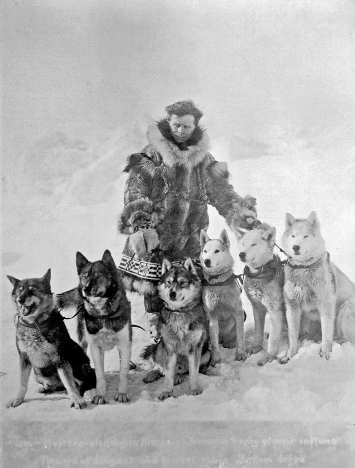 Leonhard Seppala con sus perros
