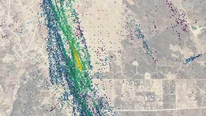 Este extraño enjambre sísmico duró años: los científicos por fin tienen una explicación