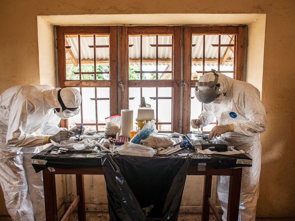 El virus del Ébola