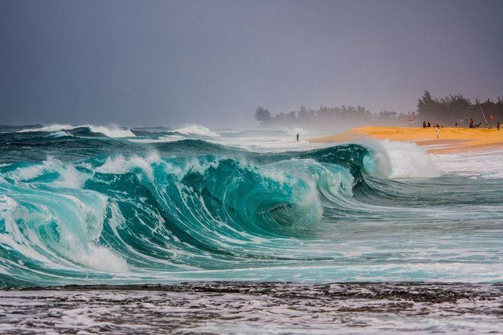 Oleaje en Hawái