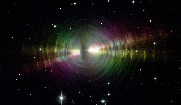 Fotografía de la nebulosa del Huevo