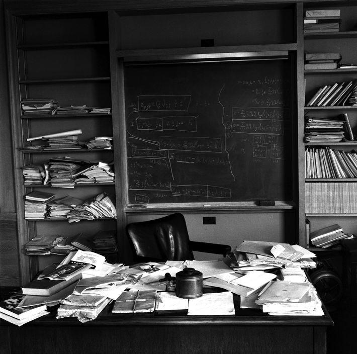 Foto de la oficina de Albert Einstein