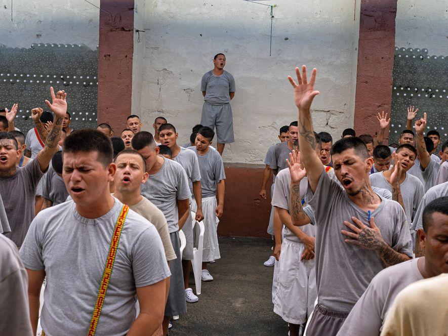 Cárcel, El Salvador