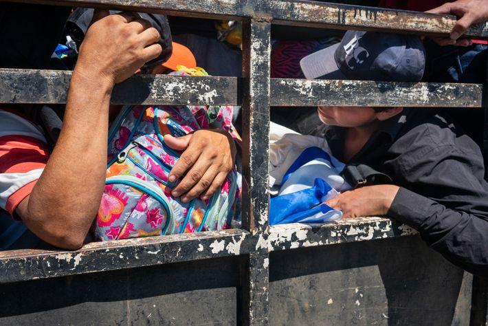 Inmigrantes salvadoreños