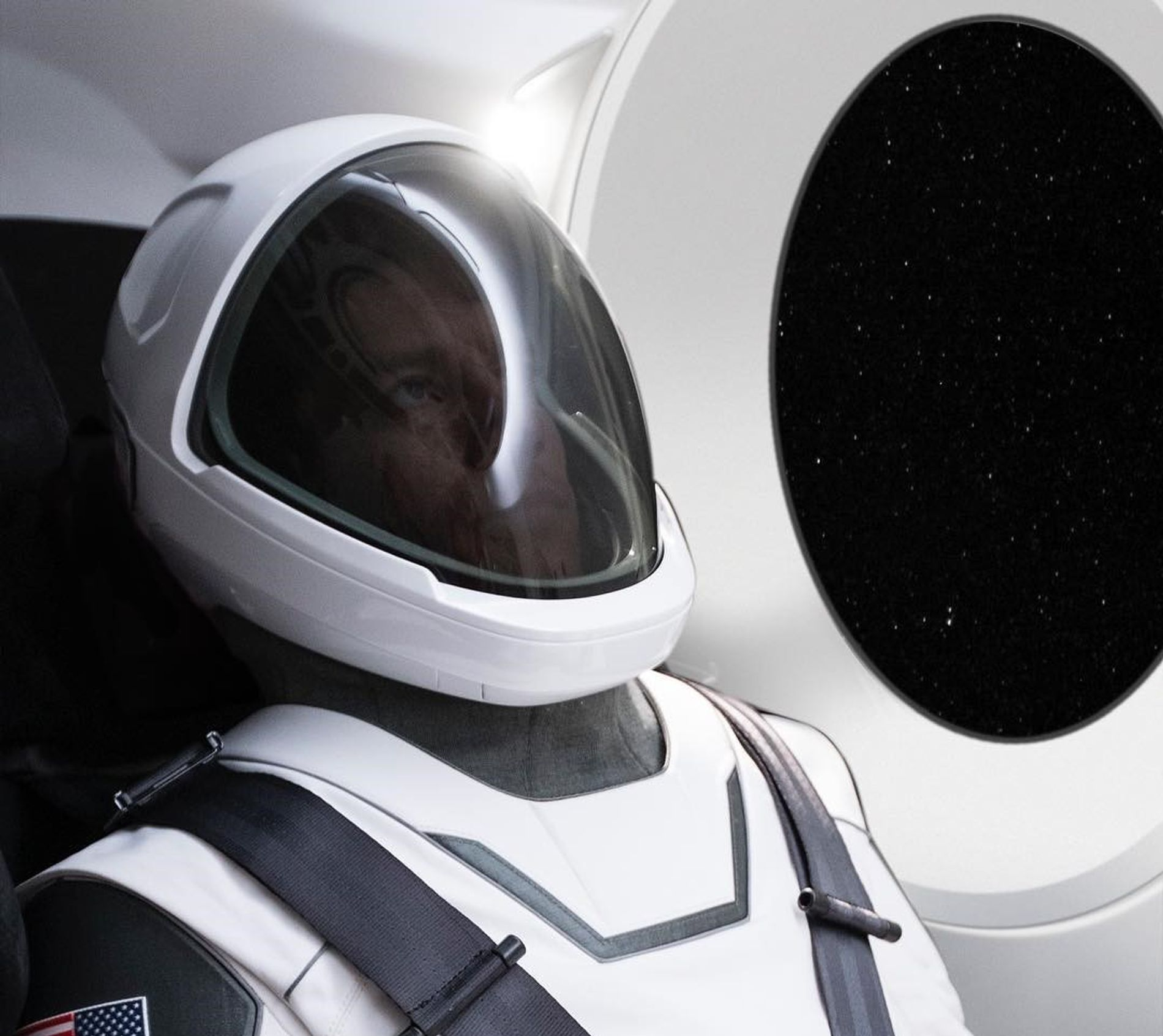 Traje espacial SpaceX
