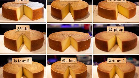 La música y el queso