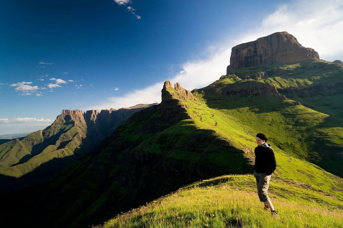 Sendero del pico Sentinel, Sudáfrica