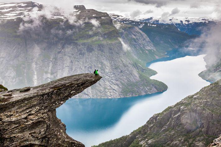 Trolltunga, Noruega