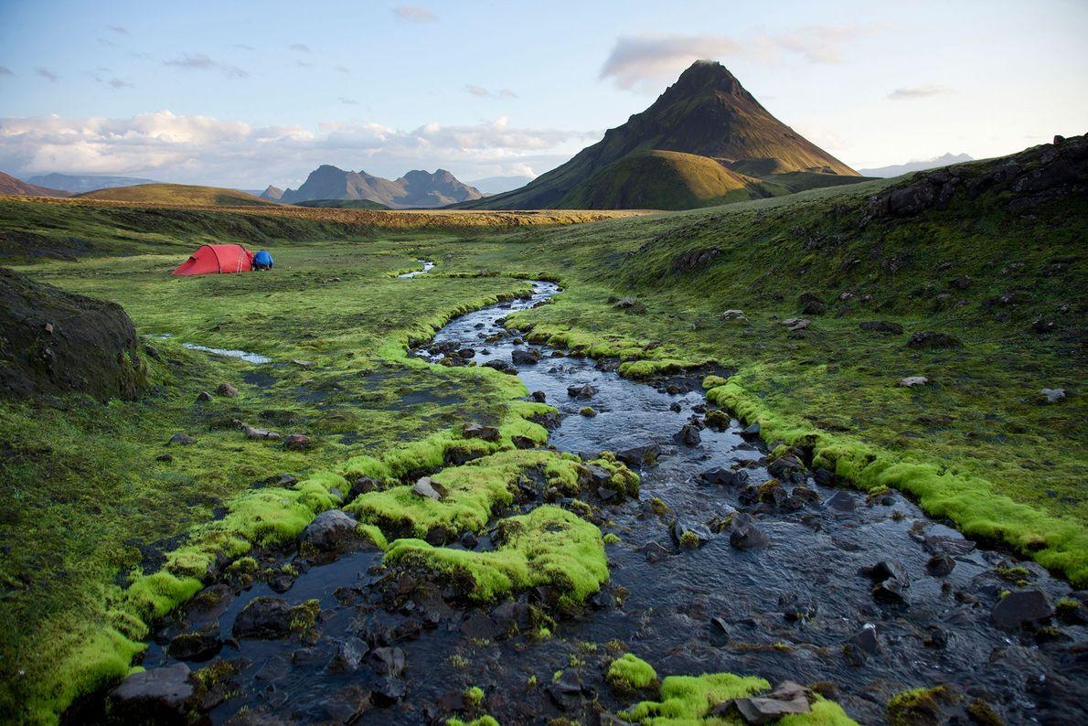 Ruta Laugavegur, Islandia