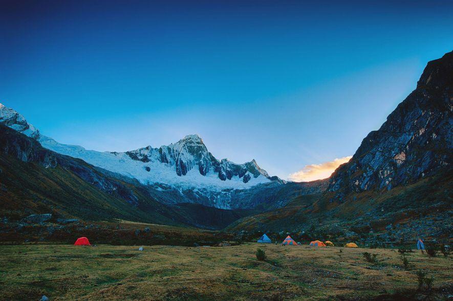 Ruta de Santa Cruz, Cordillera Blanca, Perú