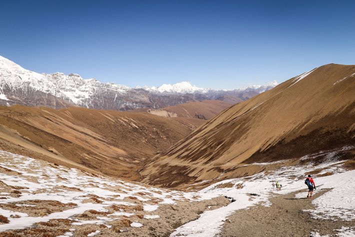 Ruta del Hombre de las Nieves («Snowman's Trek»), Bután
