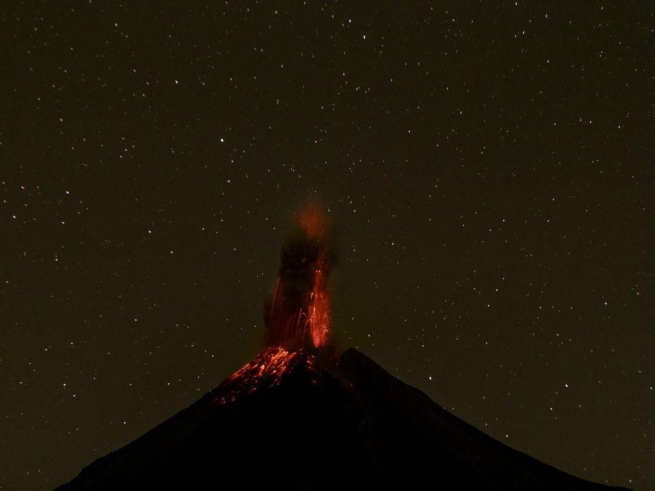 Fotografías del volcán de Colima, ganadoras del concurso de Fotografía de Viajes 2017