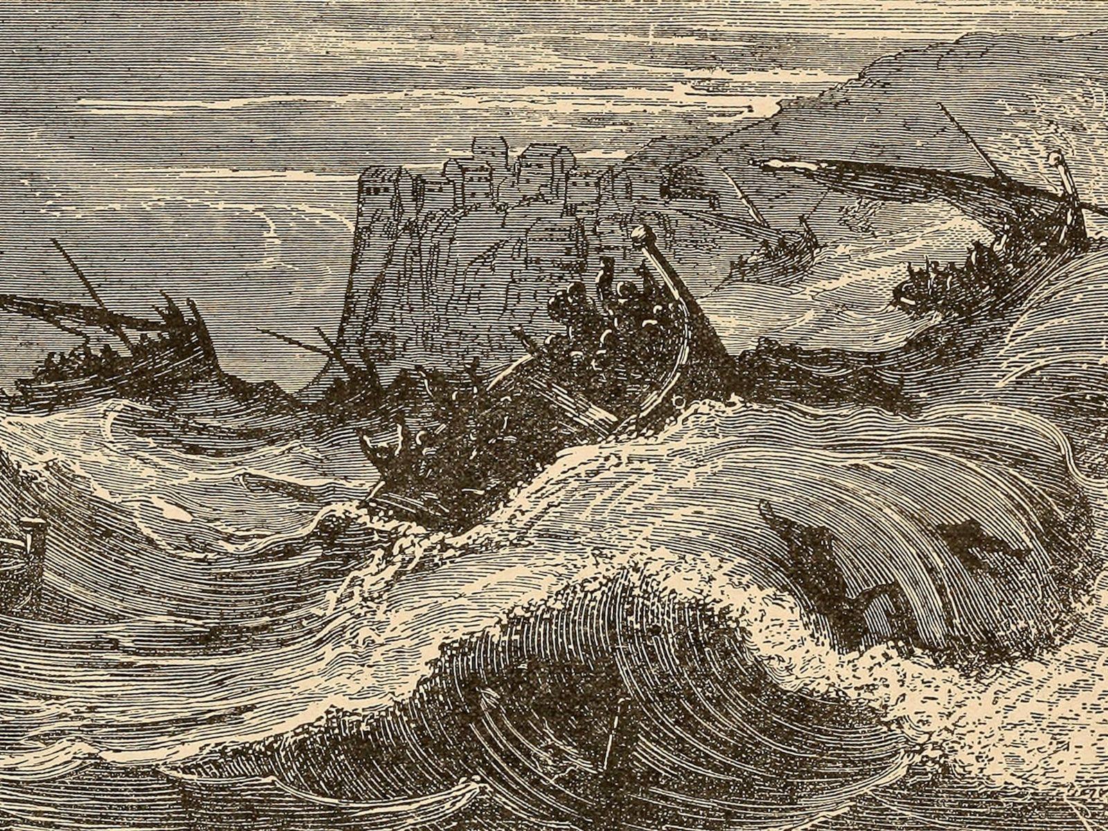 Un terremoto provocó un tsunami en Indonesia en 1861