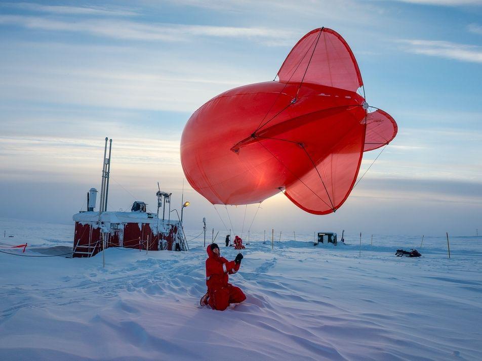 En esta base científica del Ártico, la vida no es tan solitaria como parece