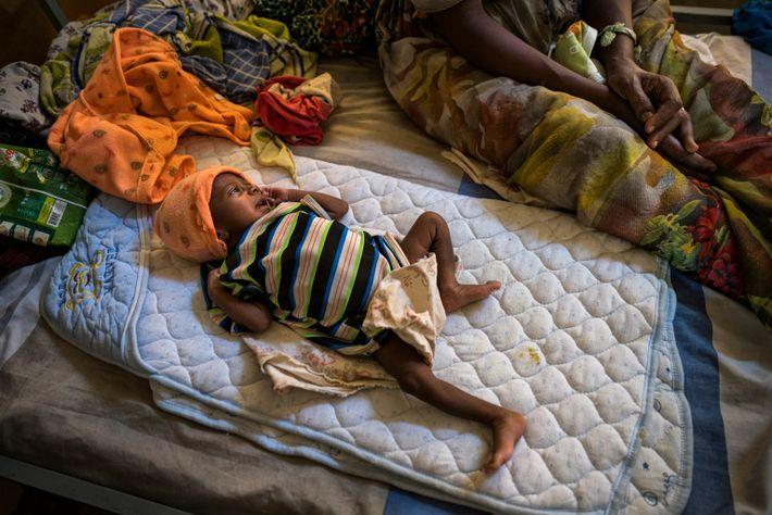 Bebé de Abeba Gebru