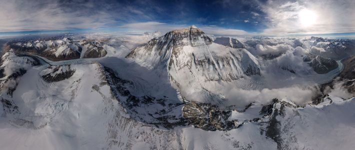 Panorámica del Everest