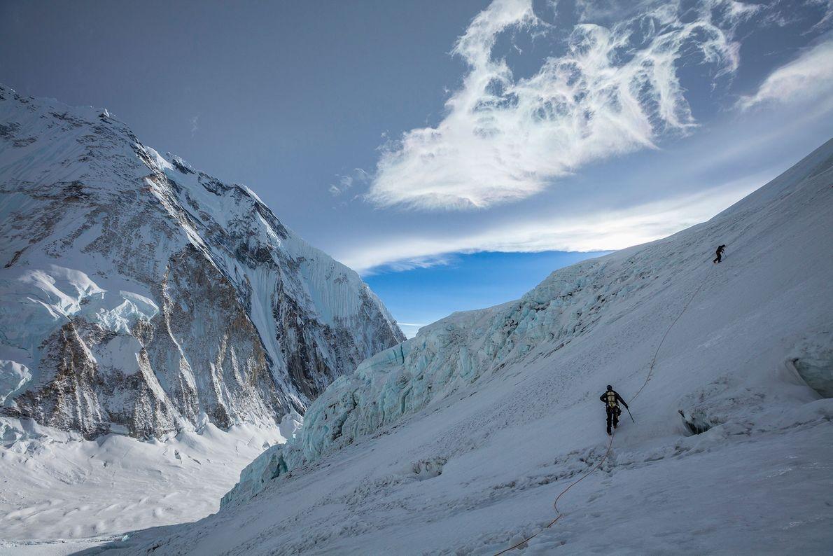 Conrad Anker y Jangbu Sherpa