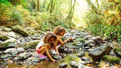 Salir de casa puede sacar a relucir el espíritu explorador de tus hijos