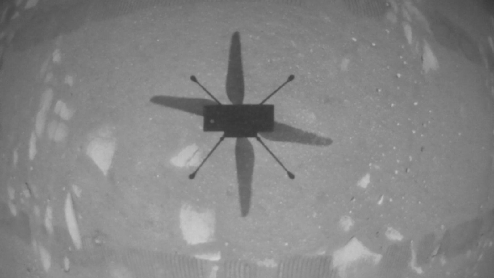 El helicóptero Ingenuity