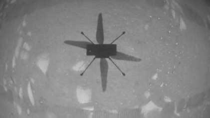 El helicóptero de la NASA hace historia en Marte convirtiéndose en el primer vehículo que vuela ...