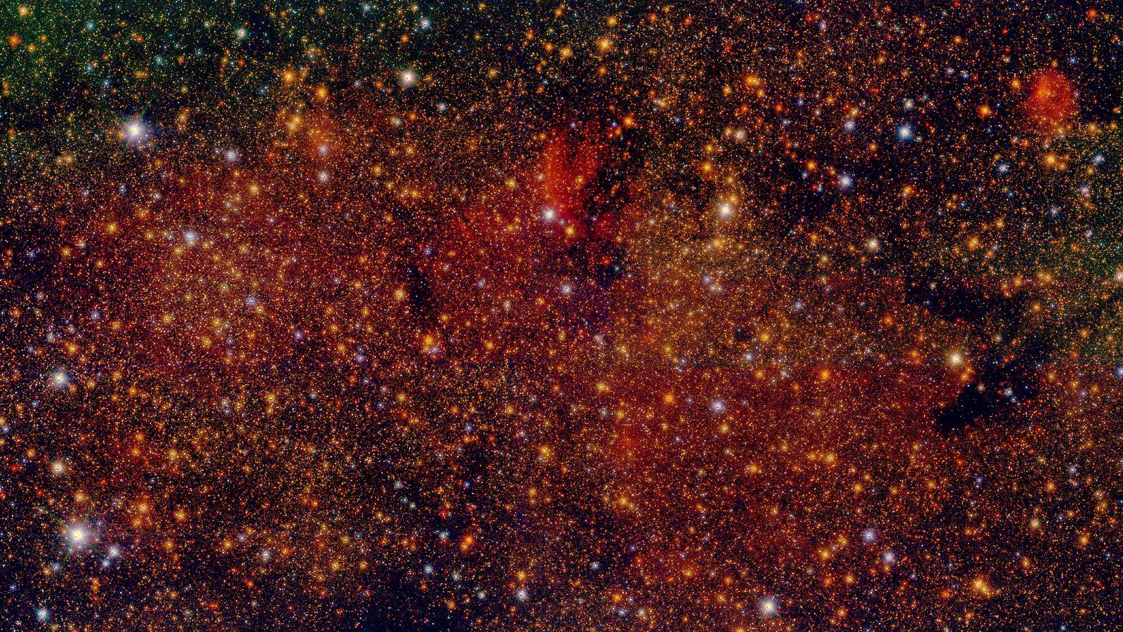 Censo estelar Centro Galactico 01