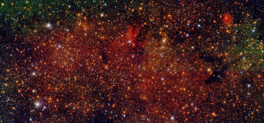 Investigadores españoles crean el catálogo de estrellas más detallado del centro de la Vía Láctea