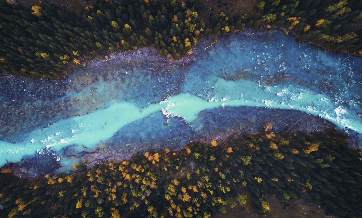Río azul