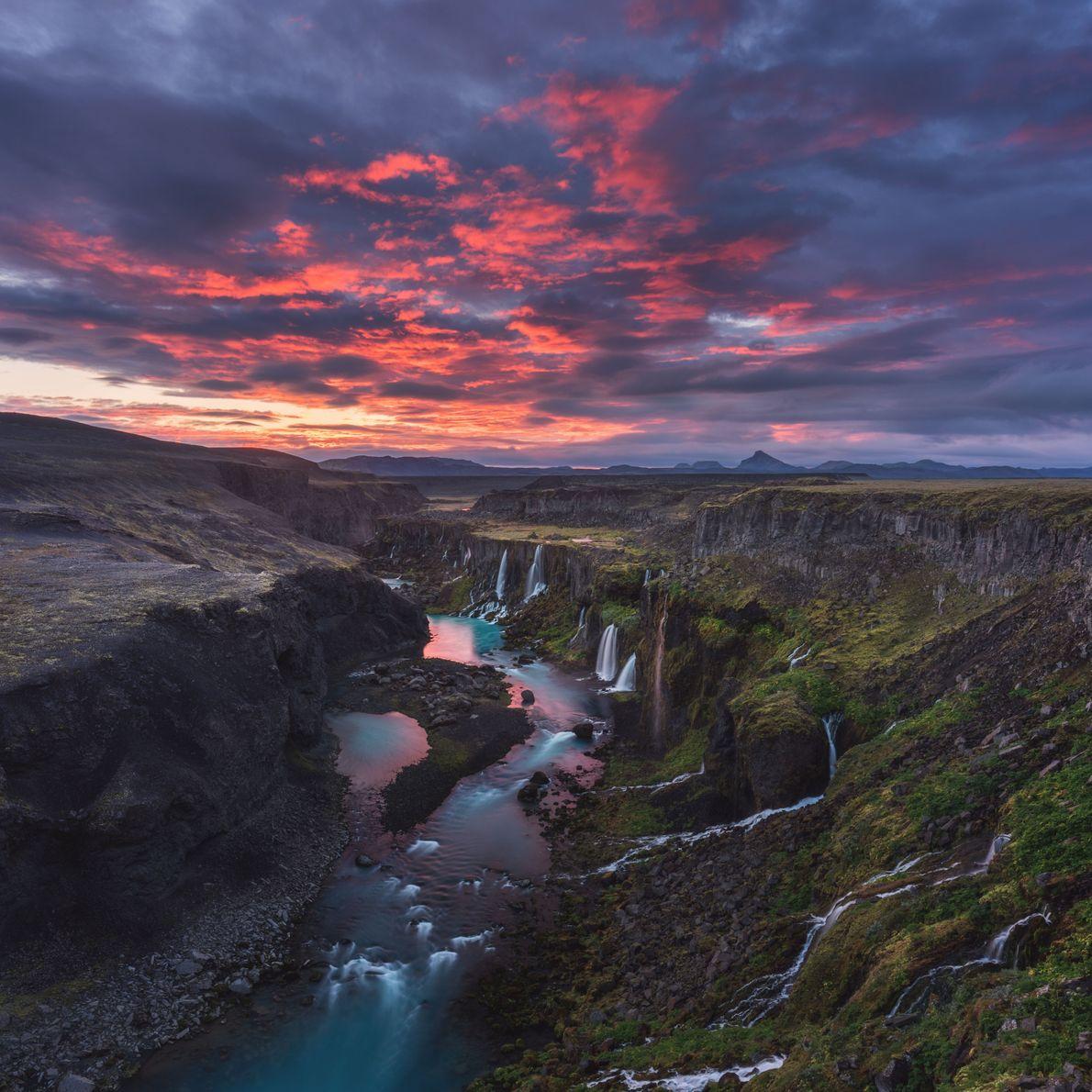 Oasis islandés
