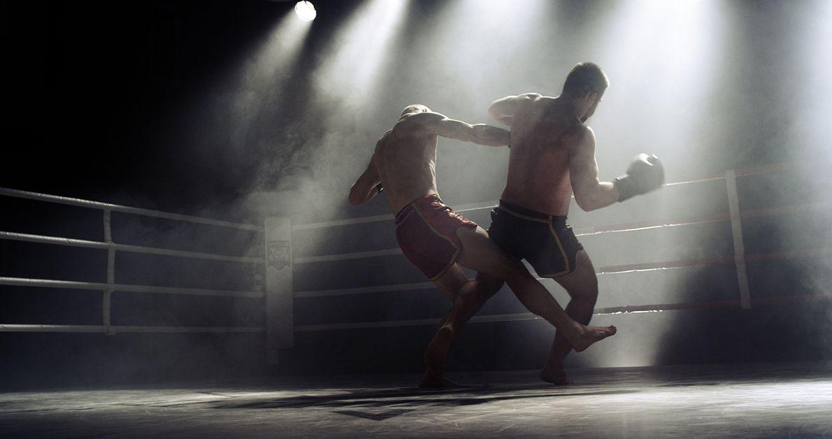 Boxeo en la sombra