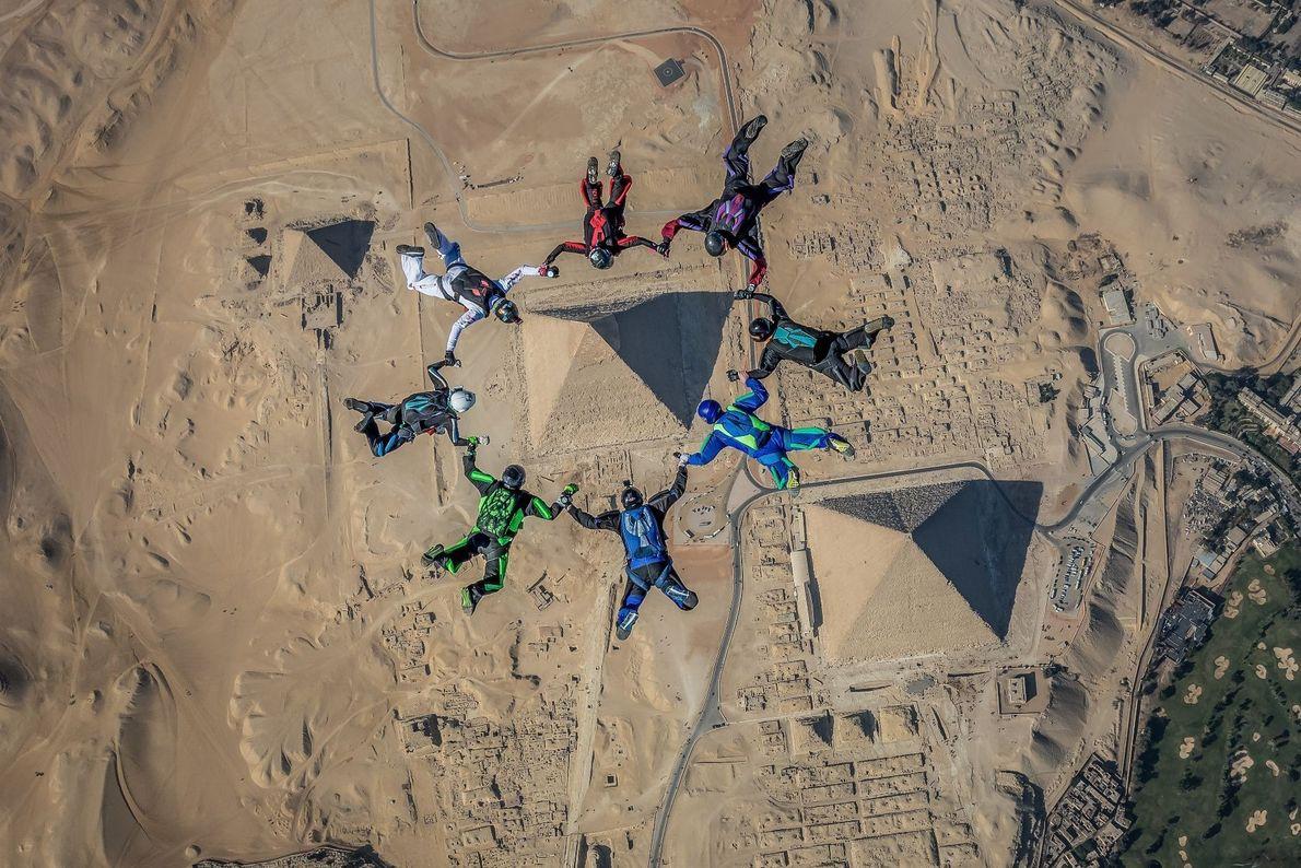 Inmortalizando las pirámides
