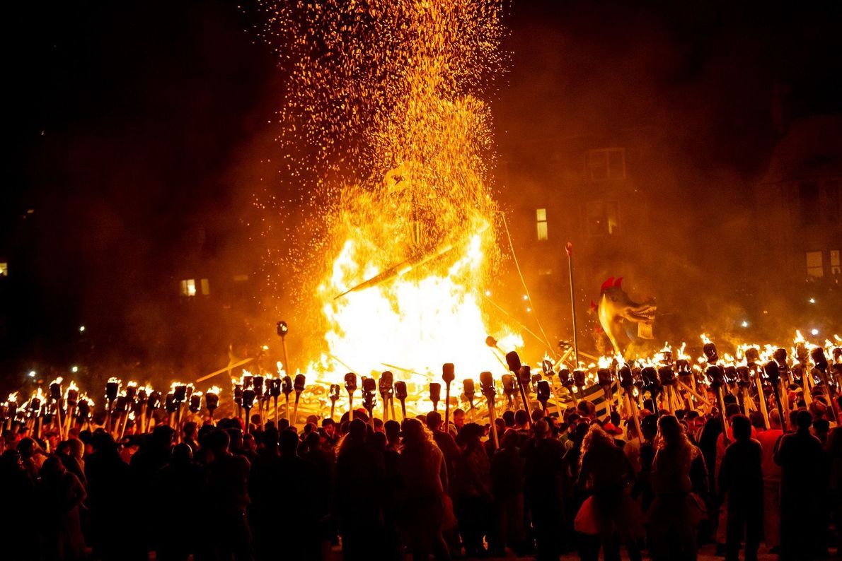Festival de fuego