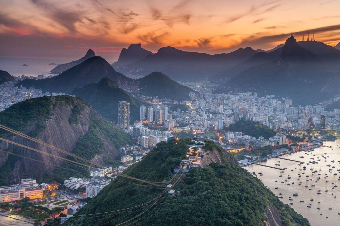 Atardecer en Río